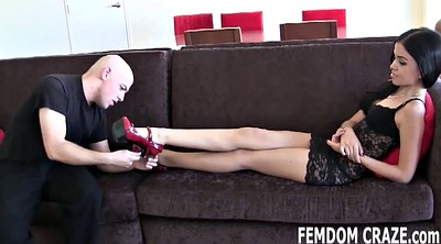 Slaves, Foot fetish worship