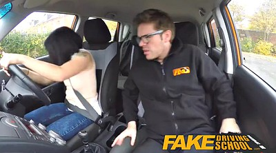 School, Fake tits, Fake driving school, Driving, Driving school