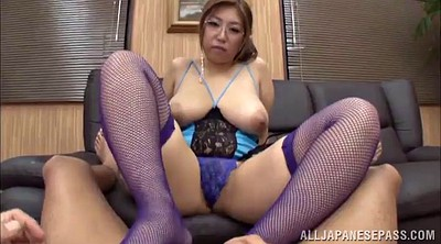 Asian foot, Footing, Asian glass, Handjob pov, Fishnet, Asian glasses