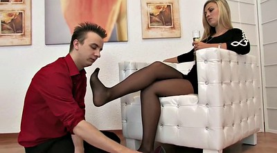 Smell nylon, Nylon foot, Trample, Nylon foot fetish, Trampling, Foot femdom