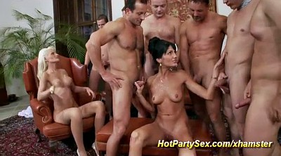 Party anal, Double anal, Anal orgy