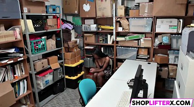 Shoplifter, Shoplifting, Teen big black cock