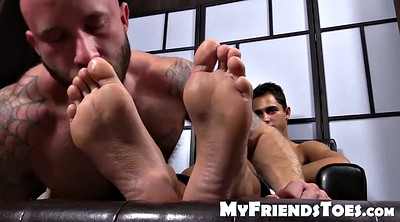 Handsome, Footing, Toes, Foot massage