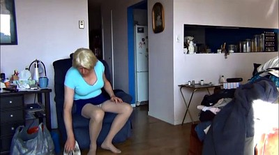 Pantyhose, White pantyhose, Gay couple