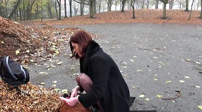 Mature solo, Solo mature, Public masturbation, Redhead milf, Public outdoor flash, Naked milf