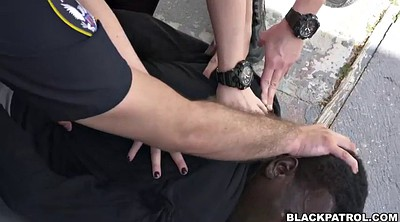 Police, White, Interrogation, Chubby bdsm, White ass, Interrogate