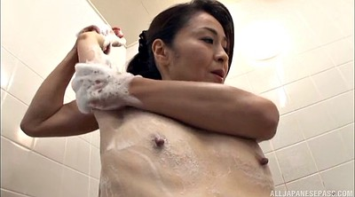 Handjob, Asian milf, Japanese woman