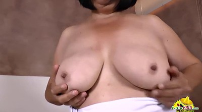 Mature, Grandma, Granny solo, Video, Milf solo