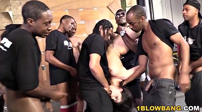 Interracial, Group sex orgy