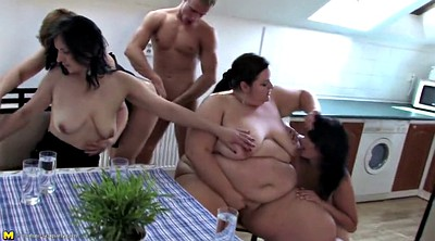 Mature gangbang, Mature and young, Granny and boy, Boys