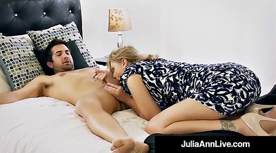 Julia ann, Public, Mother, Milf son