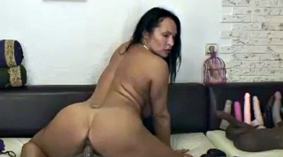 Hot riding, Latina granny