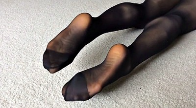 Nylon feet, Nylon foot, Asian foot