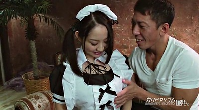 Innocent, Breast, Asian maid