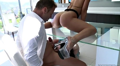 Veruca james, Hard spanking