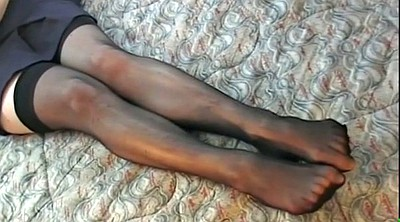 Heels, Stocking foot, Stocking heels, High heels stockings, Ebony stockings