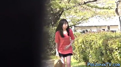 Japanese teen, Japanese public, Asian teen, Japanese outdoor, Asian peeing
