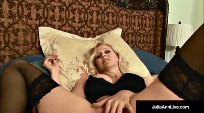 Julia ann, Cum in mouth, Cum in, Big black cock