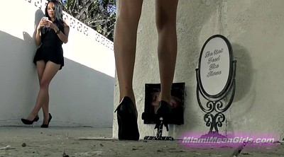 High heels, High, Cleaner, High heeled, Heels femdom