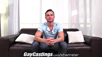 First time, Hairy casting, Gay first time, Casting hairy