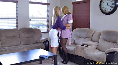 Alexis fawx, Alexis, Clothed, Lesbian maid, The maid, Cleaning