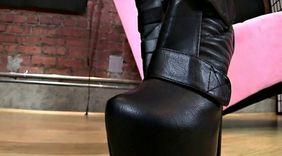 Boots, Boot fetish, Boots femdom