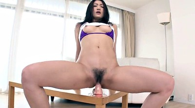 Asian milf, Asian mature, Dildo riding