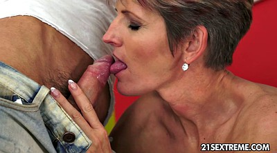 Mature woman, Granny boy, Boys