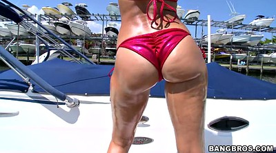 Pool, Rachel starr, Bikini, Ass worship