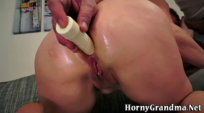 Mature anal, Anal toying
