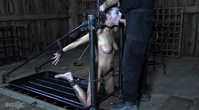 Tied up, Tied fuck, Bondage blowjob