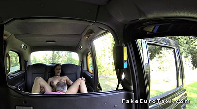 Taxi fake, Mouth, Busty amateur, Ass to mouth