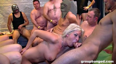 Stockings, Group sex orgy