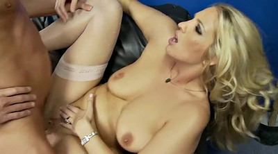 Nylon, Breath, Blond milf