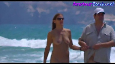 Nudist, Nudism, Walk, Voyeur couple