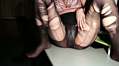 Pantyhose, Pantyhose foot, Foot tease, Pantyhose office, Office foot