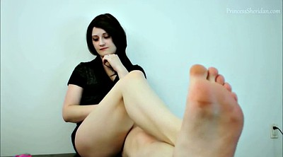 Solo teen, Feet joi