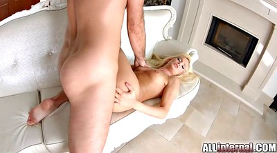 Creampie blonde, Teen anal creampie, International, Internal