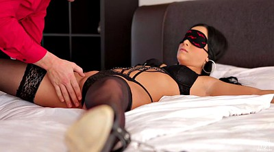 Obey, Slave anal, Blindfolded, Blindfold