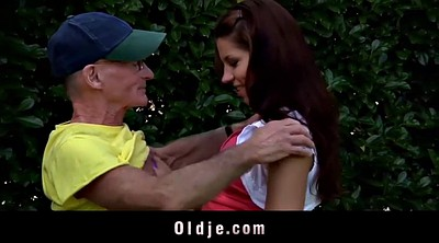 Granny anal, Old man teen