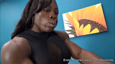 Training, Muscle femdom, Cuckold slave