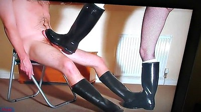 Gay sex, Boots, Rubber boots, Rubber