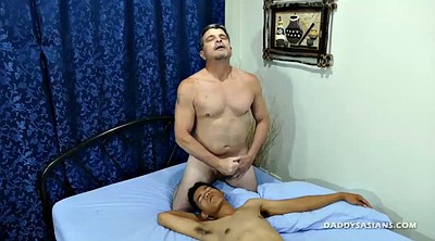 Asian young, Asian interracial, Asian boy, Old daddy gay, Mike, Asian old