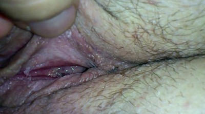 Hairy wife, Close up pussy