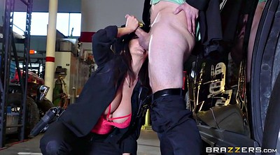 Uniform, Ava addams, Bill, Watch, Sucking
