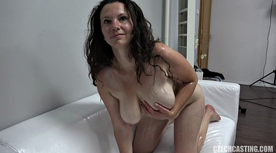 Oil, Mature casting, Casting mature, Busty matures