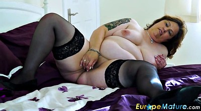 Chubby, Busty, Chubby solo, Granny solo