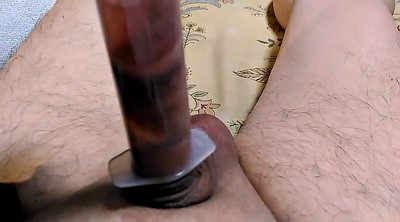Cbt, Self, Toy, Gay self, Small cock gay, Tail
