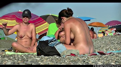Beach, Teen small, Lady voyeur