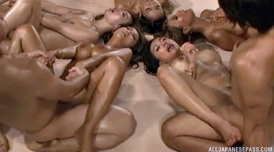 Japanese orgy, Asian orgy, Group sex orgy, Together, Japanese babe